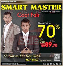 Smart Master Coat Fair 2013 Malaysia Deals Offer Shopping EverydayOnSales