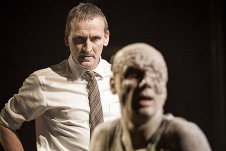 Christopher Eccleston in the National Theatre's Antigone'.