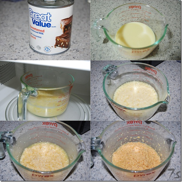 Microwave palkova process