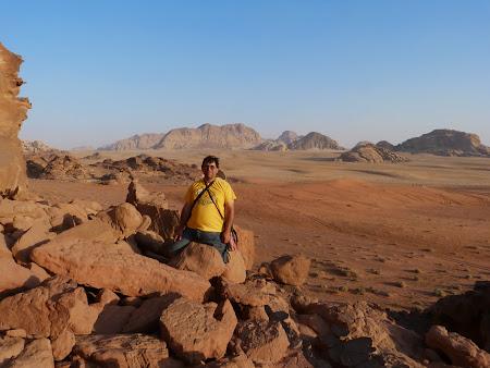 Apus de soare in Wadi Rum