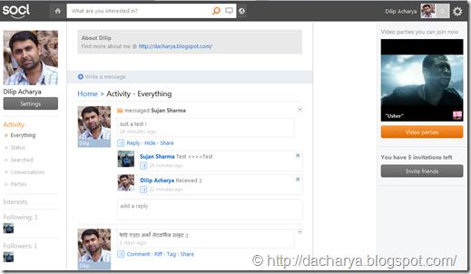 so.cl -Dilip Acharya