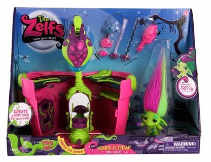 MOOSE TOYS - The Zelfs - Venus Flytrap Spin Salon In Package