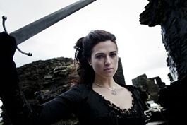 Katie McGrath is Morgana in Merlin - Diamond of the Day