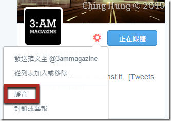追蹤 Twitter 但不要看到訊息的方法