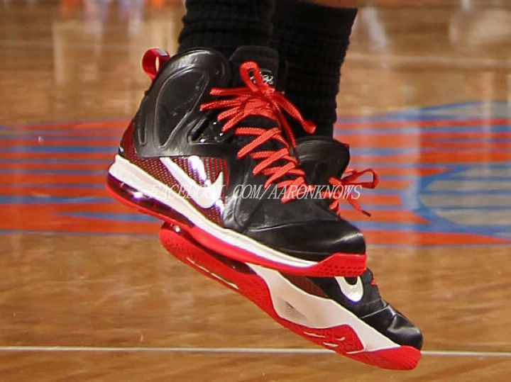 low priced 48762 b6a52 Closer Look at Nike LeBron 9 PS Elite 8211 Game Three Away PE .