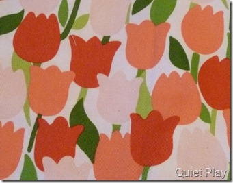 Tulip backing fabric