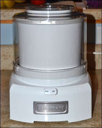 Cuisinart countertop ice cream maker