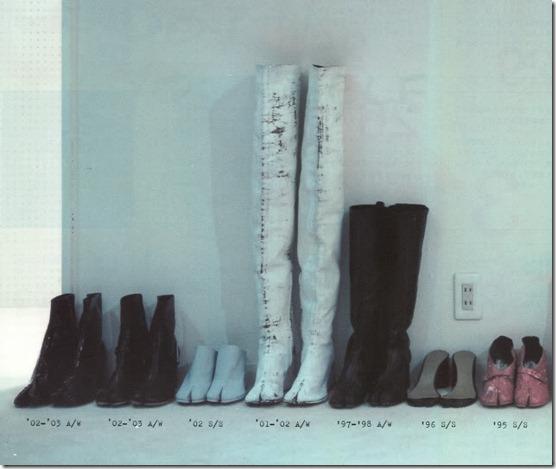 margiela tabi boots var