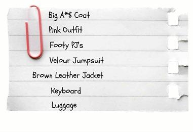 Thrift Challenge List