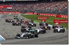 Rosberg vince il gran premio di Germania 2014