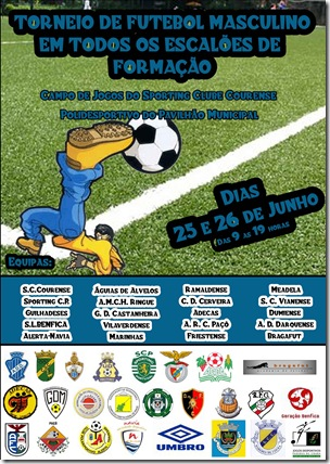 cartaz futebol