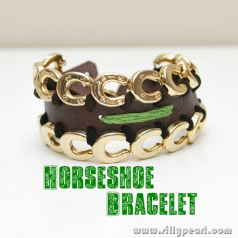 Horseshoe Bracelet