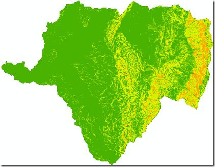 mapas pendientes de cuenca