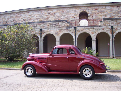 Wayne King, 1937 Chevy Coupe,