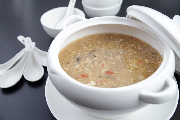 Crab Meat Fish Lip Thick Soup (Medium)