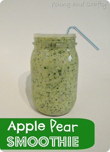 Apple Pear Smoothie 2