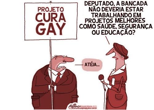 Resultado de imagem para Cura gay preconceito fanatismo