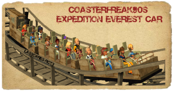 Coasterfreak90s Expedition Everest Car (lassoares-rct3) IV