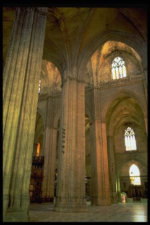 Catedral De Sevilla Arquitectura Gotico Cristiana