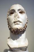 Busto de Cómodo en el Museo Arqueológico Nacional de Atenas