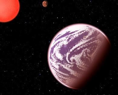 ilustração do exoplaneta KOI-314c