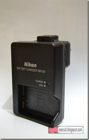 MH-24 battery charger D3100