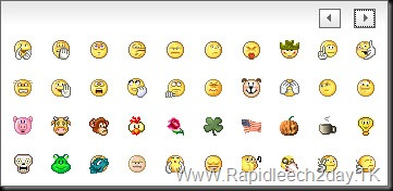 yahoo emoticons 2