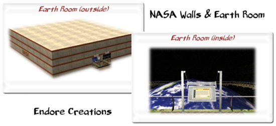 Endore'sNASA Walls & Earth Room (Endore) lassoares-rct3