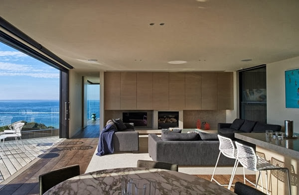 arquitectura y decoracion Residencia Point King de HASSELL