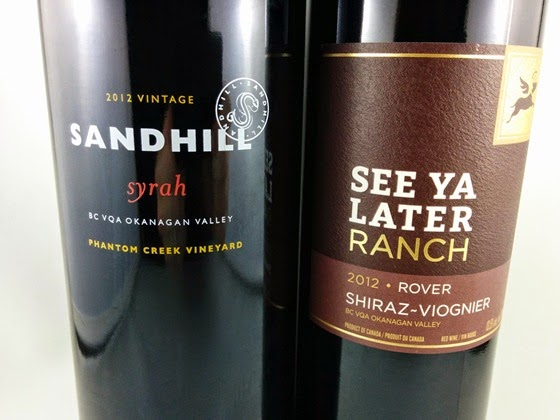 Sandhill Small Lots Syrah 2012 & See Ya Later Ranch Rover 2012