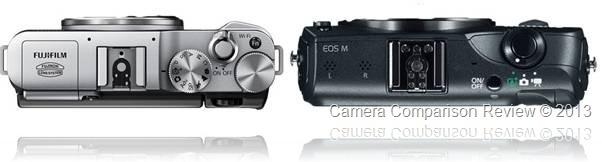 Fujifilm X-M1 vs Canon EOS M