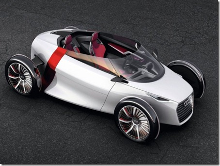 2011 Audi Urban Concept without rroof