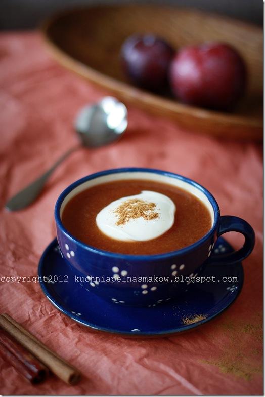 zupa ze śliwek