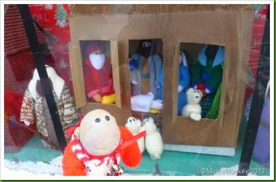 Motorworld Knitted Nativity