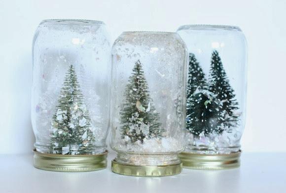 snow globe tree