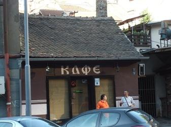 Café en Belgrado
