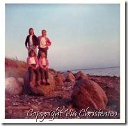 Mette på ferie 1968 Badetur til Vestermark