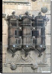 reja contemporánea de la Universidad de Salamanca