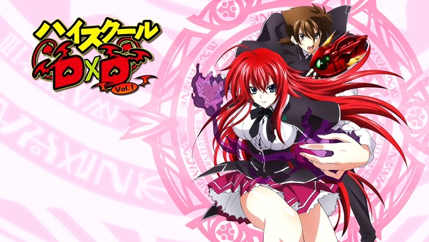 Elenco da Segunda Temporada de High School DxD