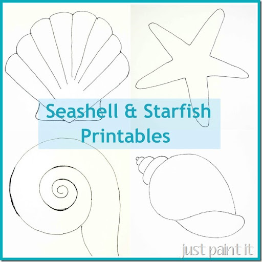 picture regarding Printable Starfish Template referred to as Seas and Starfish Routine Printables - Precisely Paint It Blog site