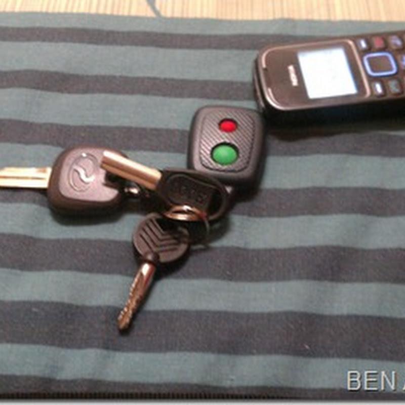 Nak tidur pon usung kunci kereta ke ??