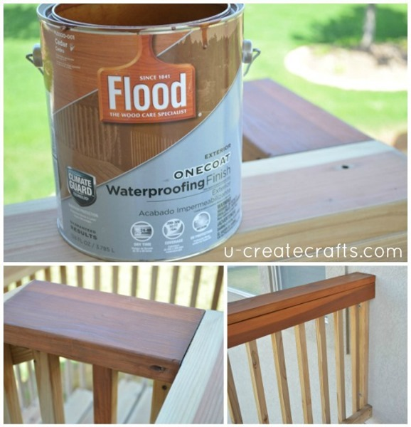 Deck Makeover with FLOOD One Coat CEDAR