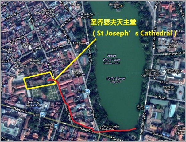 Nha Tho Street St Joseph's Cathedral 圣乔瑟夫天主堂