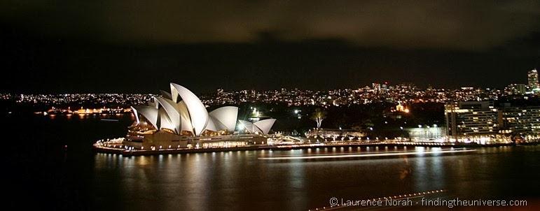 Sydney Opernhaus bei Nacht - New South Wales - Australien