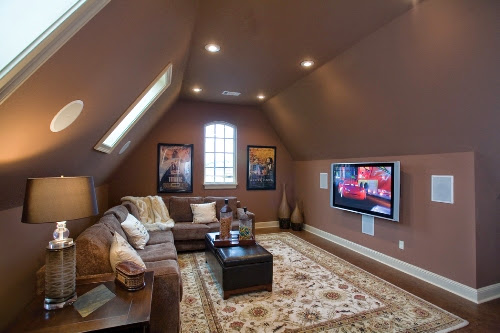 055D 0817 Photo Media Bonus Room Ideas