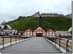 saltburn from pier inland