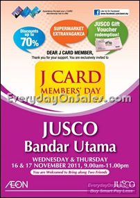 J-Card-Members-Day-Bandar-Utama-Sale-Promotion-Warehouse-Malaysia