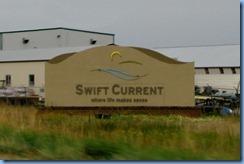 2013 Saskatchewan TC-1 East - Swift Current sign