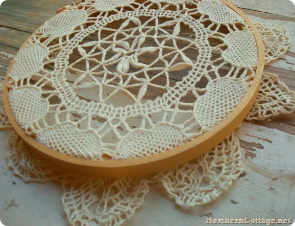 northern cottage doily art