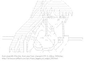[AA]Kanzaki Kaori (Toaru kagaku no railgun)